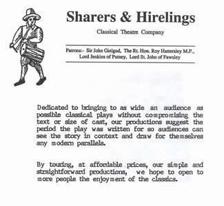 Sharers & Hirelings